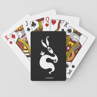 Shiver the Shadow Rabbit Playing Cards