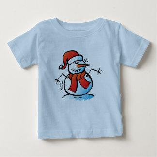 Shivering Snowman Baby T-Shirt