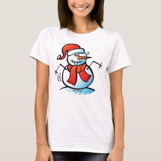 Shivering Snowman T-Shirt