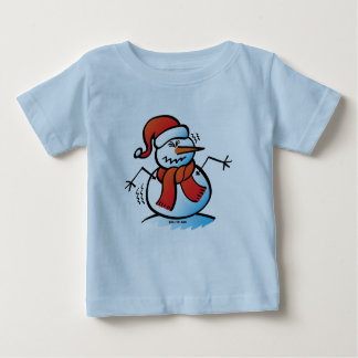 Shivering Snowman Tees