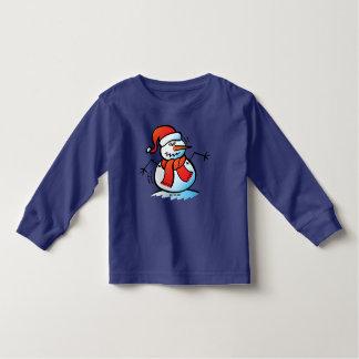 Shivering Snowman Toddler T-Shirt