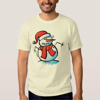 Shivering Snowman Tshirt