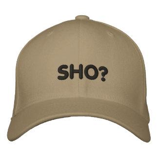 SHO EMBROIDERED BASEBALL CAP