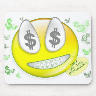 Sho Me The Benjamin s Smiley Face Mousepad