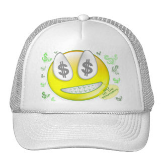 Sho' Me The Benjamin's Smiley Face Hats