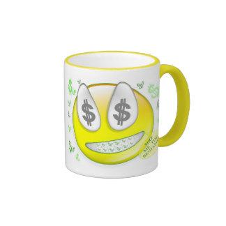Sho' Me The Benjamin's Smiley Face Mugs