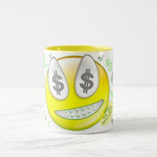 Sho' Me The Benjamin's Smiley Face Coffee Mug