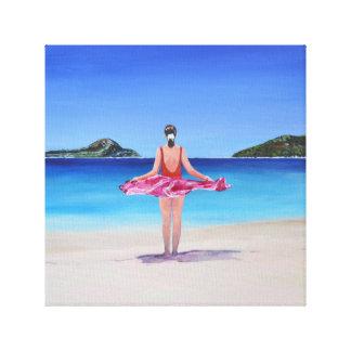 Shoal Bay Beach Canvas Print