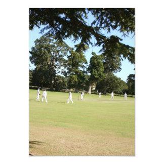 Shobrooke Park cricket club, Crediton, Devon, UK 13 Cm X 18 Cm Invitation Card