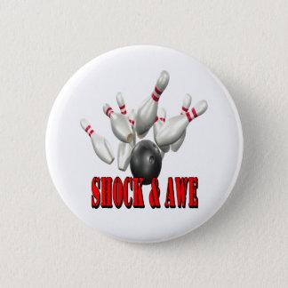 Shock & Awe 6 Cm Round Badge