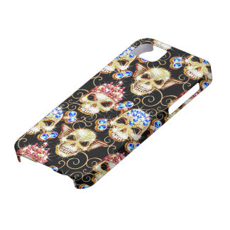 Shock & Awe Bling Skulls iPhone 5 Case