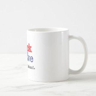 Shock & Awe Basic White Mug