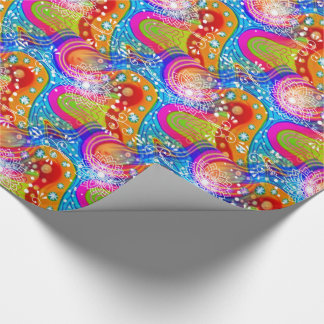Shock the Monkey Wrapping Paper