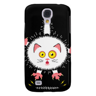 Shocked Cute Cat Galaxy S4 Case