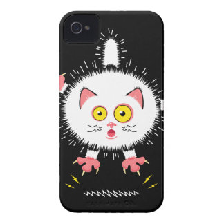 Shocked Cute Cat iPhone 4 Case-Mate Case