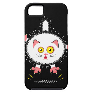 Shocked Cute Cat iPhone 5 Cases