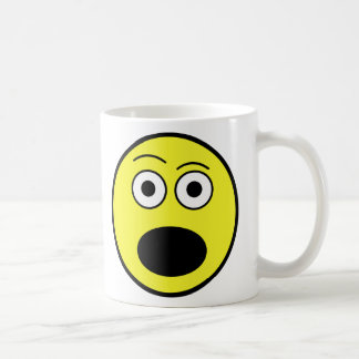 Shocked Face Coffee Mug