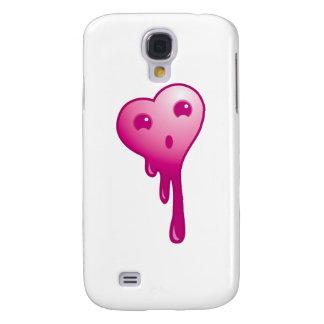 Shocked heart galaxy s4 case