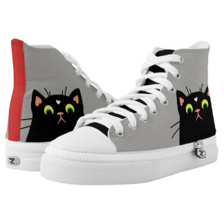 Shocked Kitty High Tops