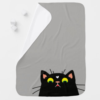 Shocked Kitty Receiving Blankets