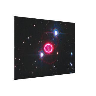 Shocked Region Around SN 1987A Gallery Wrap Canvas