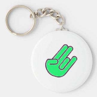 Shocker Hand Symbol Key Chain