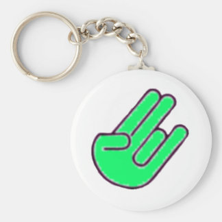 Shocker Hand Symbol Key Ring
