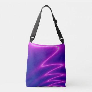 Shocking Pink Lightening Tote Bag