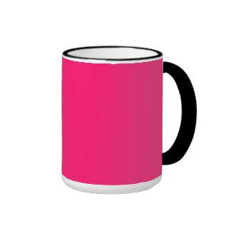 Shocking Pink Mugs
