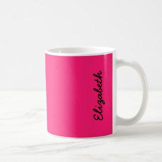 Shocking Pink Coffee Mugs