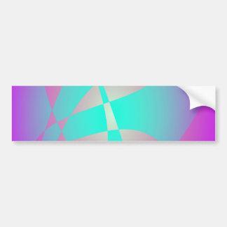 Shocking Purple Bumper Sticker