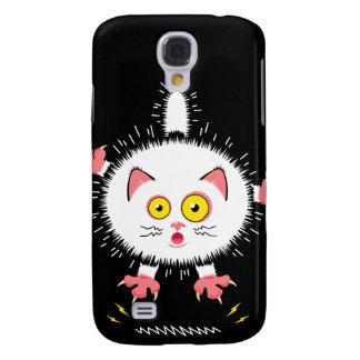 Shockingly Cute Cat Galaxy S4 Case
