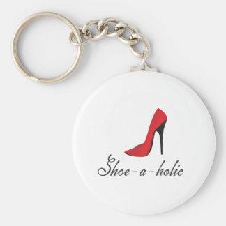 Shoe-a-holic Key Ring