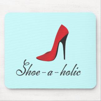 Shoe-a-holic Mouse Pads