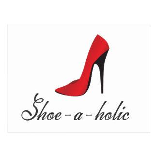 Shoe-a-holic Postcard