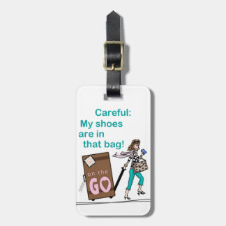 Shoe Bag Bag Tag