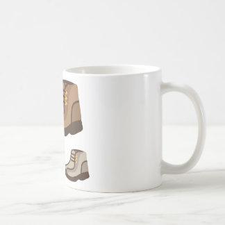 shoe basic white mug