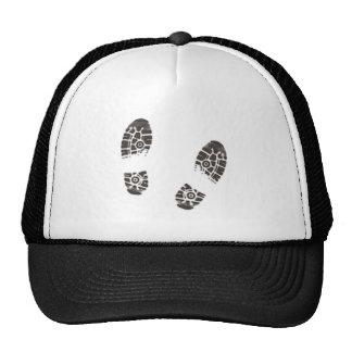 Shoe castings shoe prints mesh hat