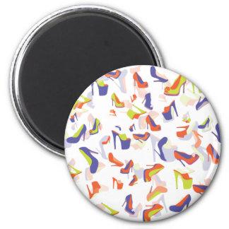 Shoe Galore 6 Cm Round Magnet