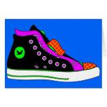 shoe greeting card