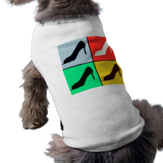 Shoe Love Fashion Pumps Sleeveless Dog Shirt