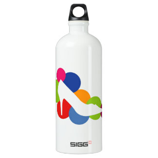 Shoe on colorful circles SIGG traveller 1.0L water bottle