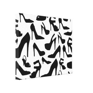shoe pattern ai canvas prints