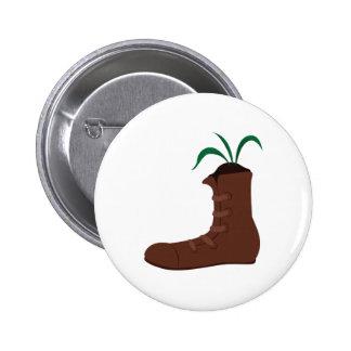 Shoe Plant Pinback Button