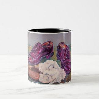 Shoe polish Two-Tone mug