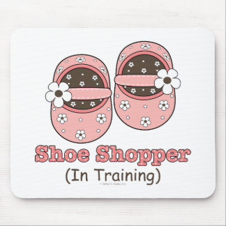 Shoe Shopper In Training Mousepad
