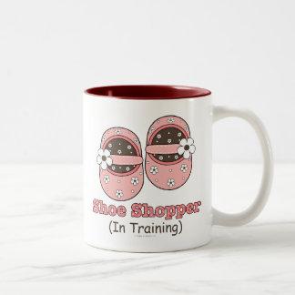 Shoe Shopper In Training Mug
