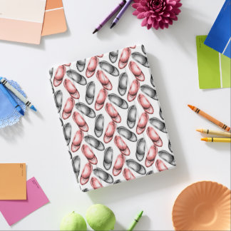 Shoe shopping design, pencil drawn, pink and grey iPad cover