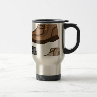 shoe stainless steel travel mug