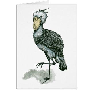 shoebill グリーティングカード